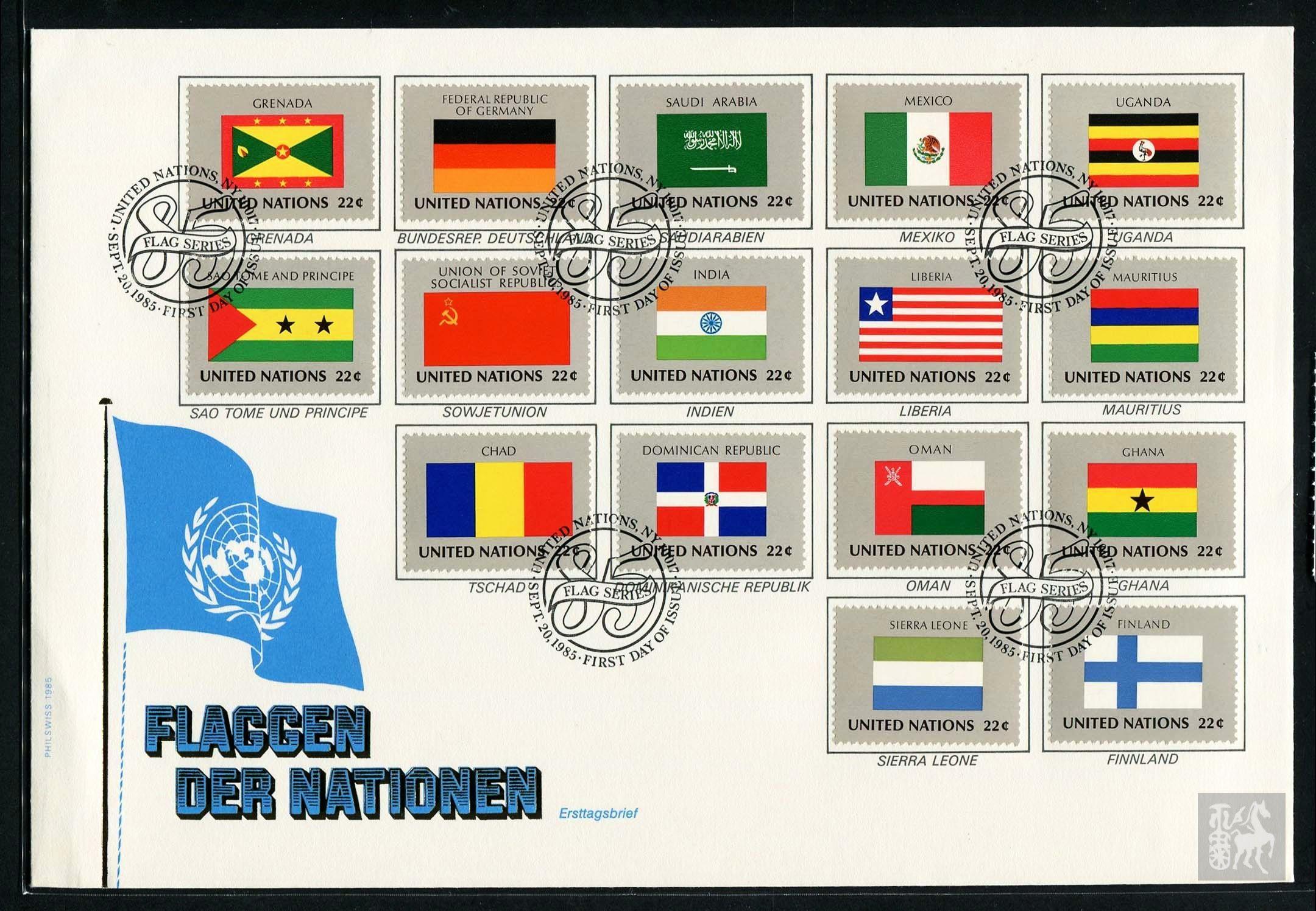 联合国国旗 国徽